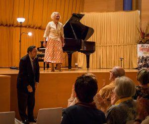 Carlos Cruz de Castro y Marisa Blanes. Festival Internacional de Música de Tres Cantos.