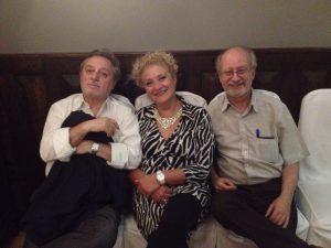 Manuel Galiana, Marisa Blanes y José Luis Turina.
