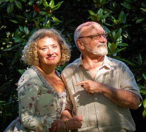 Luciano González Sarmiento y Marisa Blanes.