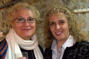 María Esther Guzmán y Marisa Blanes